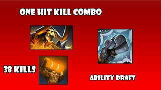 One Hit Kill Combo | DotA 2 Ability Draft