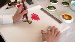 Painting the Poinsettia with Nan Rae
