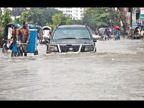 Dhaka Under Water | Dhaka Bangladesh | Dhaka Road Full Flooded