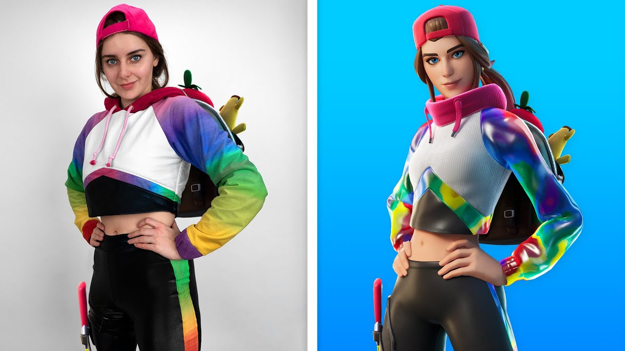 I Have A Fortnite Skin Loserfruit X Icon Series Youtube