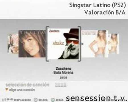 Singstar latino analisis