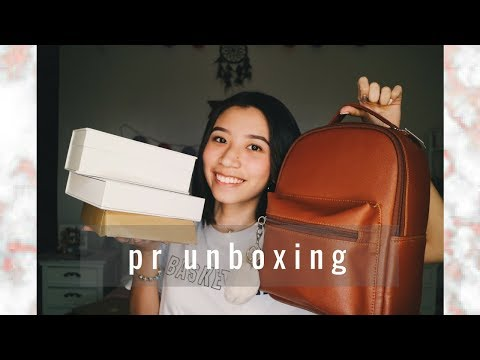 PR UNBOXING HAUL | An V