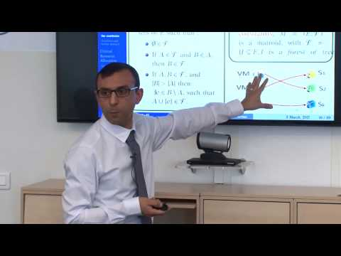 Makhlouf Hadji | Mathematical Optimization for NFV and Cloud Resource Allocation Problems