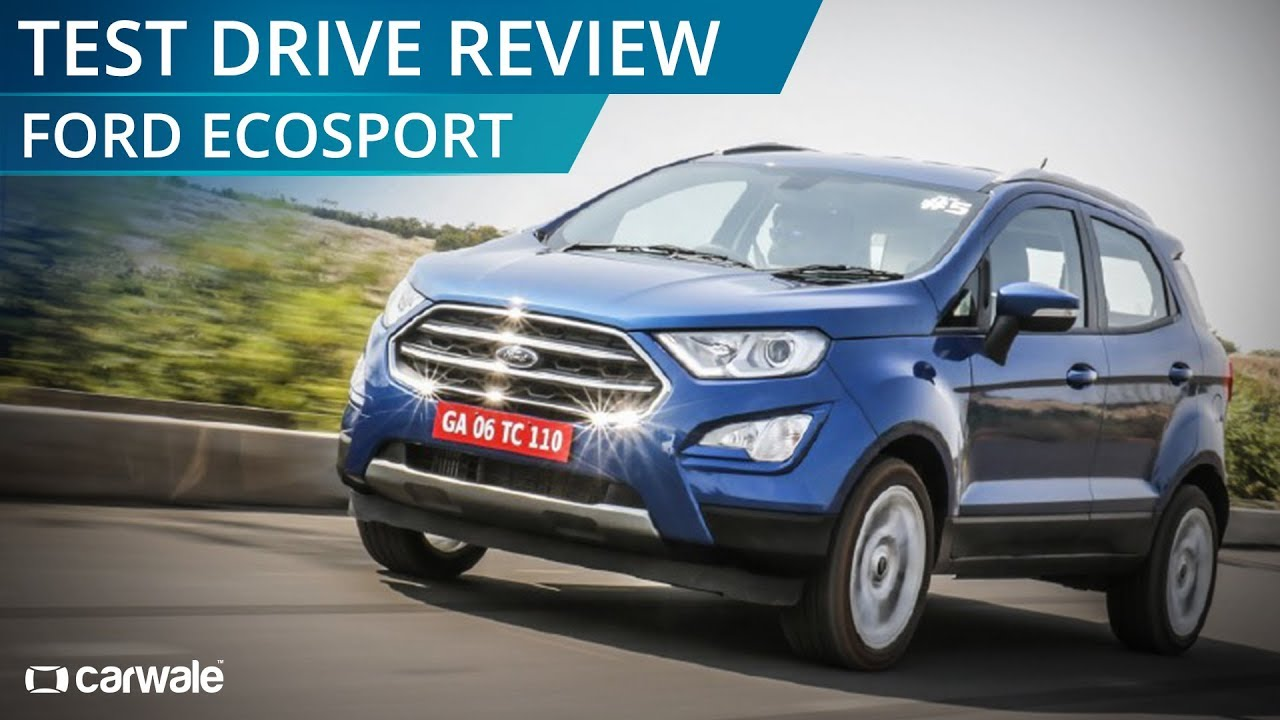 Ford Ecosport Facelift Test Drive Review Carwale