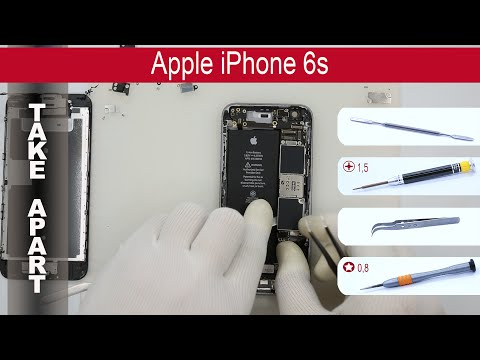 How To Disassemble 📱 🍎 Apple IPhone 6S A1633, A1688, A1700 Take Apart, Tutorial