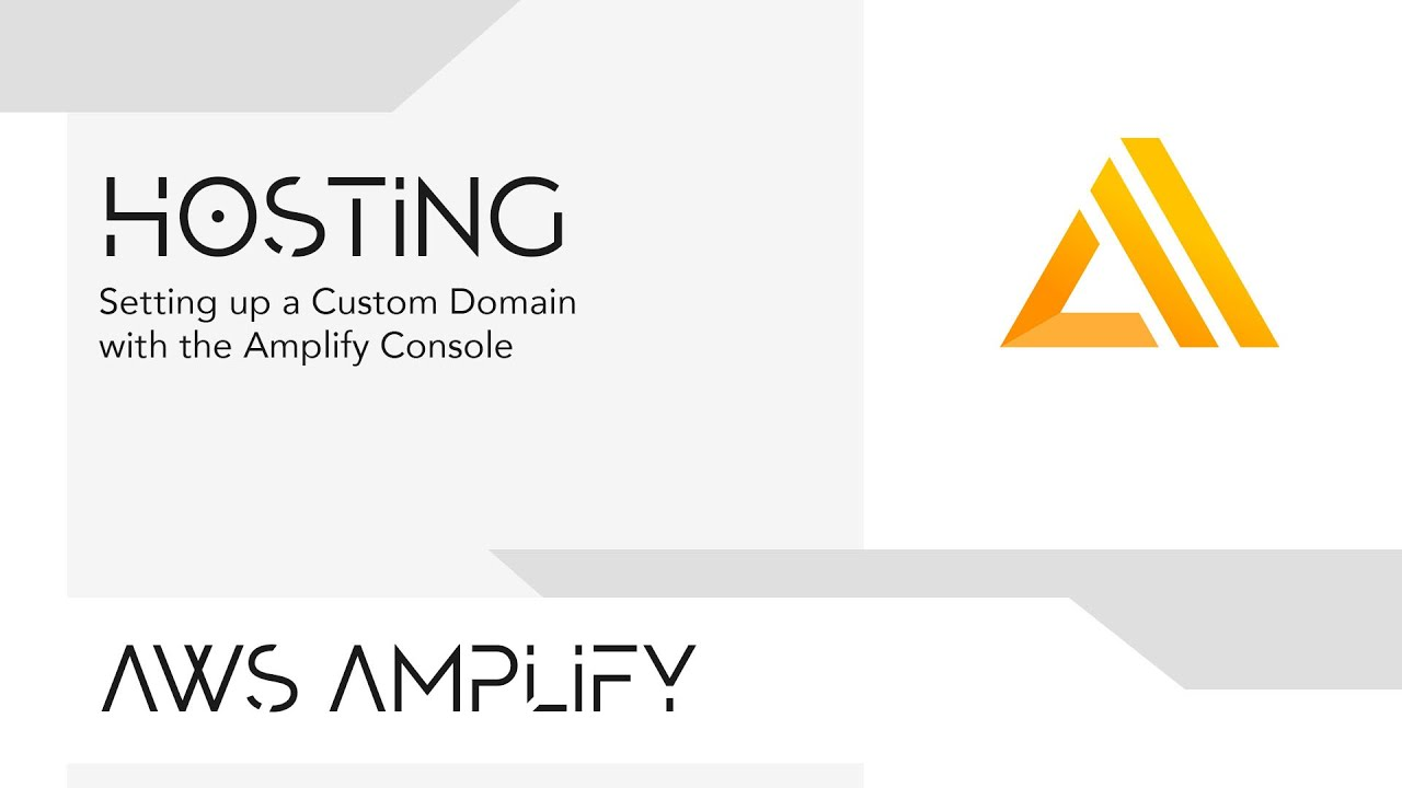Setting up a Custom Domain with the Amplify Console