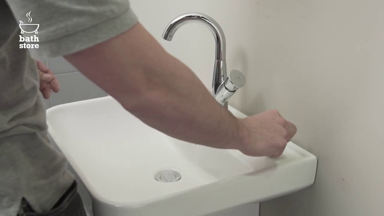 bathstore: How to change the cartridge in a mixer tap - YouTube