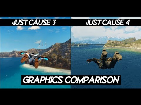 Just Cause 4 Vs Just Cause 3 | Side By Side Comparison | PC 2019