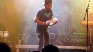 Pandeiro Solo Riduan Zalani (Batucada Sound Machine) Samba- Festival Coburg 2014