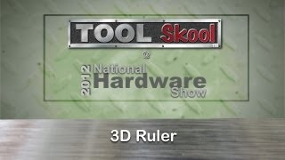 3D Ruler - First Look - ToolSkool