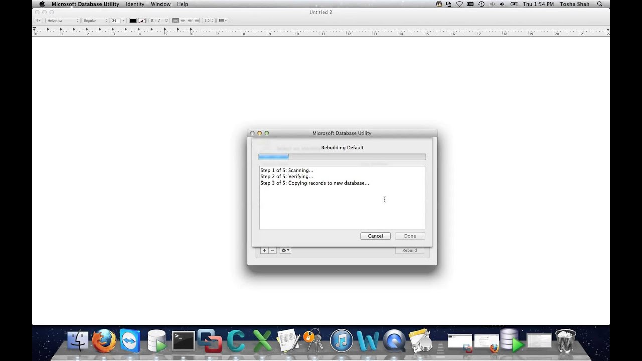 Fixing Outlook on Mac