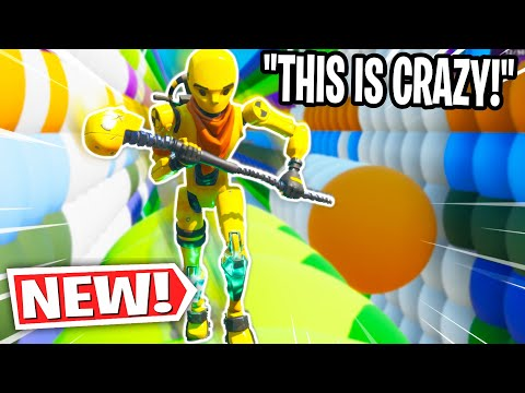 I've never seen a Deathrun like this...*EPIC* (Fortnite Creative Mode)