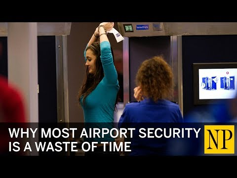 Why Canadian airport security is exactly as useless and