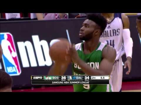 Jaylen Brown Highlights vs. Dallas Mavericks at Las Vegas SL (20 pts, 10 reb, 4 stl)