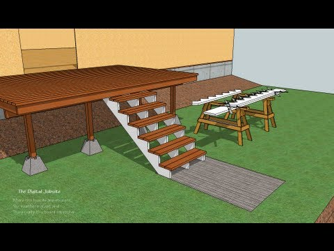 Deck Stairs 101 Video Tutorial - YouTube