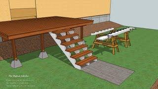 Deck Stairs 101 Video Tutorial