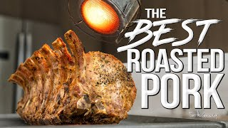 The Ultimate Roasted Pork Recipe | SAM THE COOKING GUY 4K