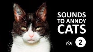 10 SOUNDS TO ANNOY CATS | Make your Cat Go Crazy! HD Vol. 2