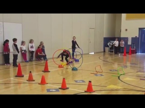 Finland Elementary School Obstacle Course Race