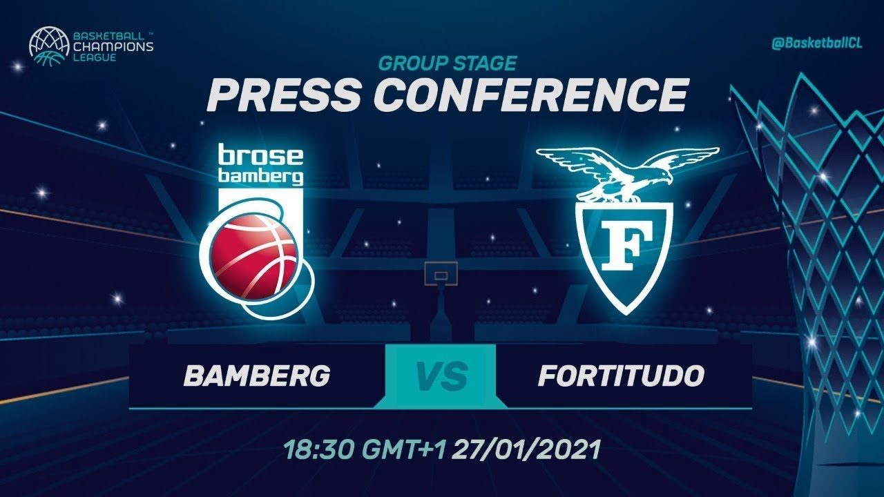 Brose Bamberg v Fortitudo Bologna - Press Conference