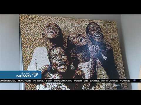 Unique art exhibition in Bloemfontein