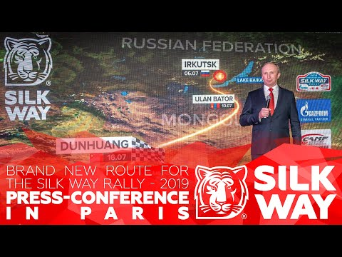 Silk way Rally 2019  - Paris