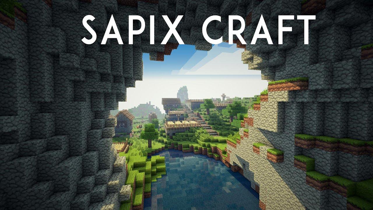 SapixCraft Resource Pack for Minecraft 1 12 2, 1 12 1, 1 12