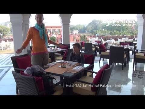 STAFA REISEN Hotelvideo: Taj Jai Mahal Palace Jaipur, Indien