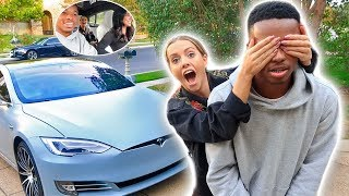 SURPRISING MY HUSBAND WITH NEW CAR! *PRANK*