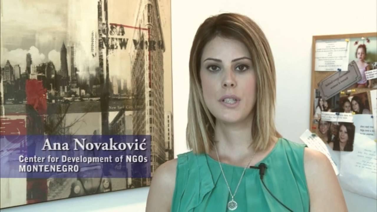 Ana Novakovic Speaks On Whistleblowing In The Balkans Youtube
