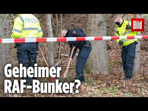Geheimer RAF-Bunker in Niedersachsen entdeckt?