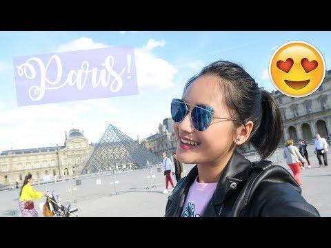 PARIS Day 1! Going to Arc De Triomphe, Lourve & Notre Dame!