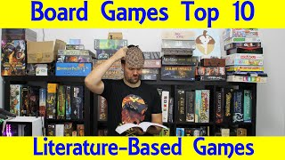 Top 10 Board Games Based On Literature