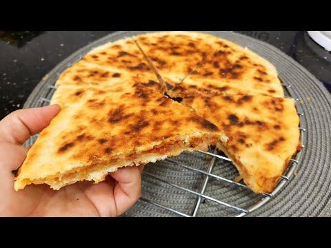 مطبخ ام وليد خبزة محشية ببنة المحاجب ، مع تدبيرة كيفاش تحطي الخبزة في الطاجين .