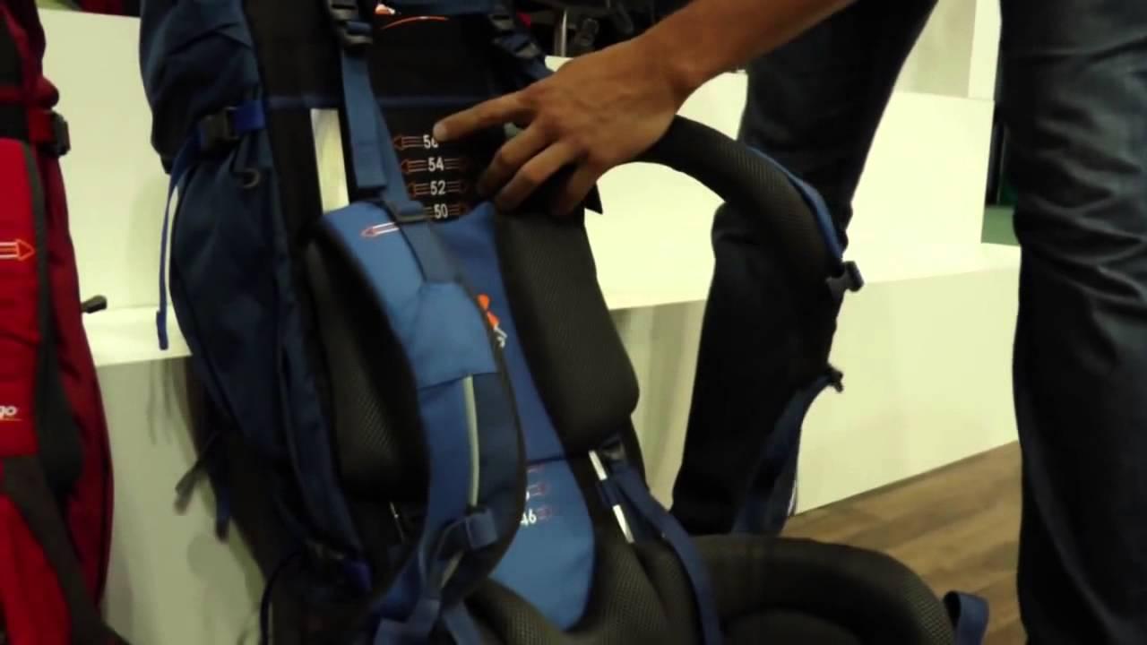 e594bc5d9c1e Vango Tech - Fitting a Sherpa Rucksack - YouTube