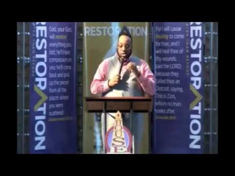Bishop Marvin Sapp Preaching at His Church Lighthouse Full L