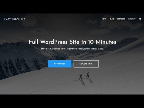 How To Make A Website With WordPress Step By Step – 2019