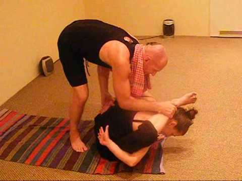 ashtanga yoga marichyasana e f g  h adjustment
