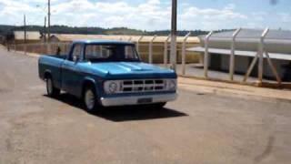Dodge D100 Burnout I