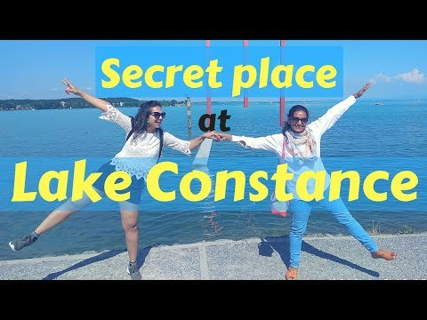 Visit this secret place at Lake Constance   Germany- Switzerland official border   Travel video