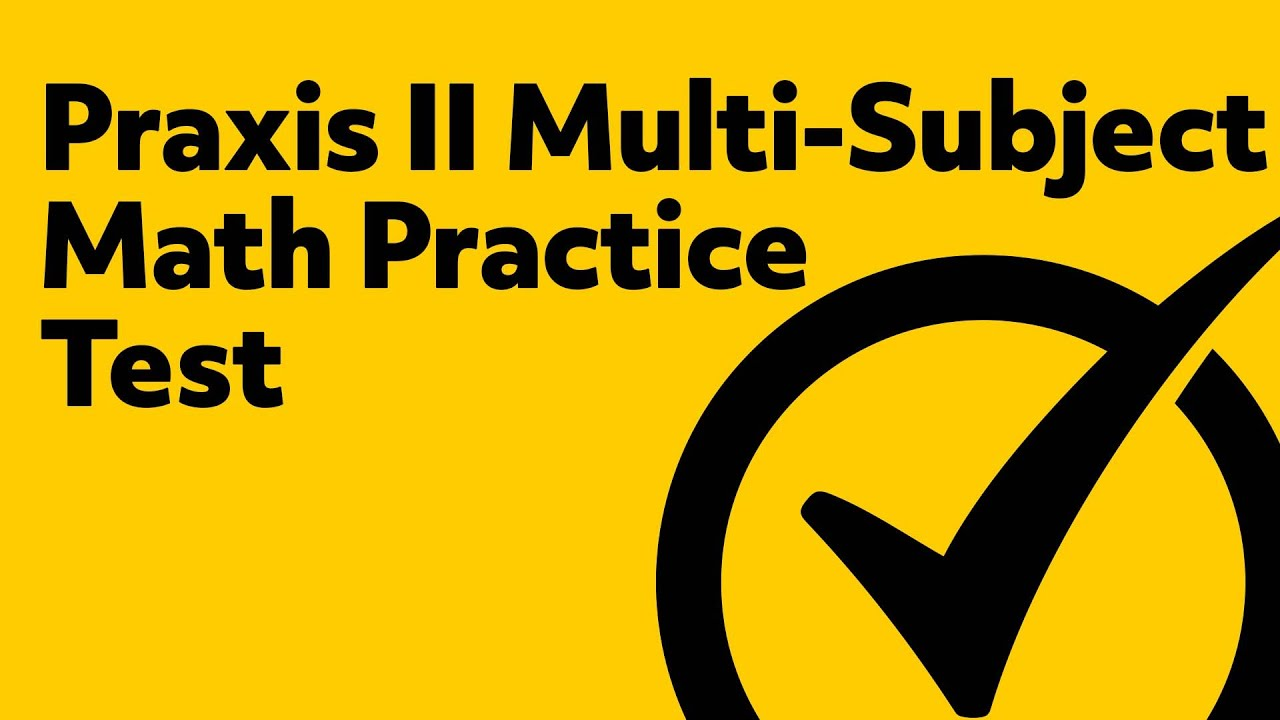 graphic regarding Praxis 1 Practice Test Printable named Totally free Praxis II (5169) Heart College or university Math Train Attempt