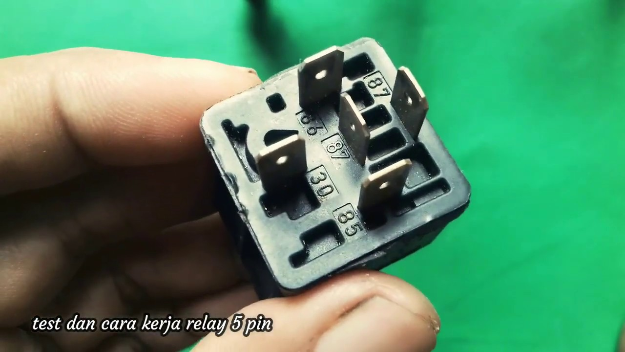 Relay    5 pin    wiring       diagram     YouTube