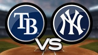 GAME 156 THE NEW YORK YANKEES VS THE TAMPA RAYS LIVE YANKEE FAN REACTION SEPTEMBER 24, 2018