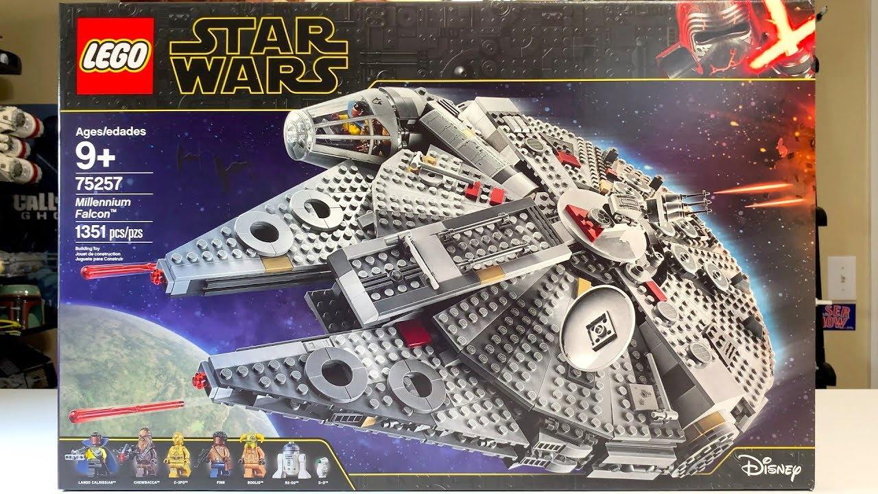 Lego Star Wars 75257 Millennium Falcon Review 2019 Youtube