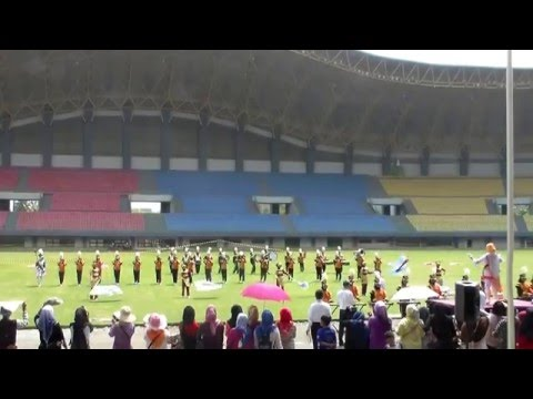 Marching Band MTsn 1 Model Palangkaraya, Kalimantan Tengah