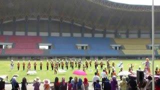 Marching Band MTsn 1 Model Palangkaraya, Kalimantan Tengah