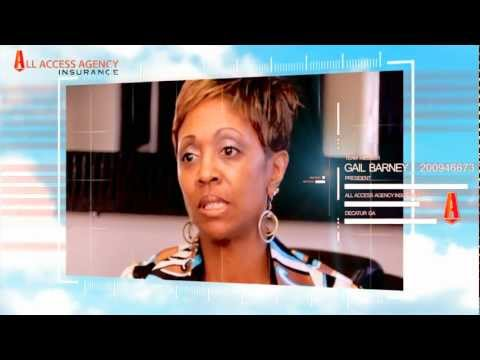 Gail Barney - President of All Access Agency Insurance of Decatur Georgia