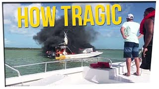 Tour Boat Carrying 12 Catches Fire ft. Dumbfoundead & Steve Greene