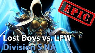 ► EPIC Heroes of the Storm: Lost Boys vs. Looking for Work - Division S NA