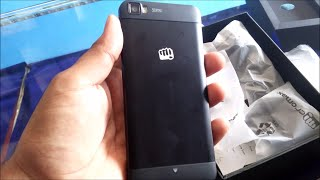 Micromax Canvas FIRE 3 A096 Unboxing